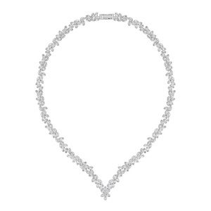 Swarovski Diapason V-Shaped Crystal Necklace